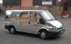 Chrome Transit Van Wrap by The Sign Shop Kent